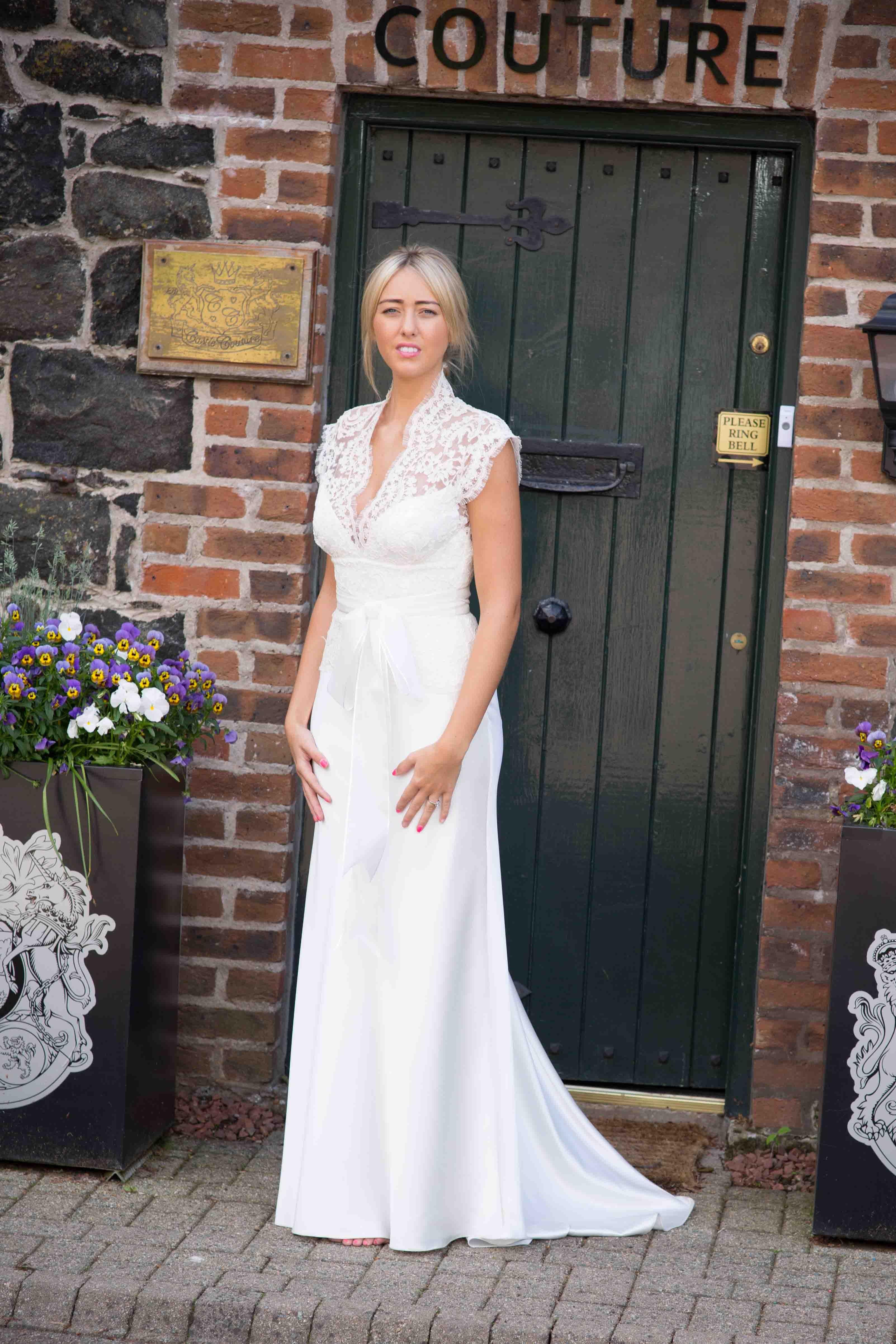 3706/4626 Wedding Dress by David Fielden   Northern Ireland