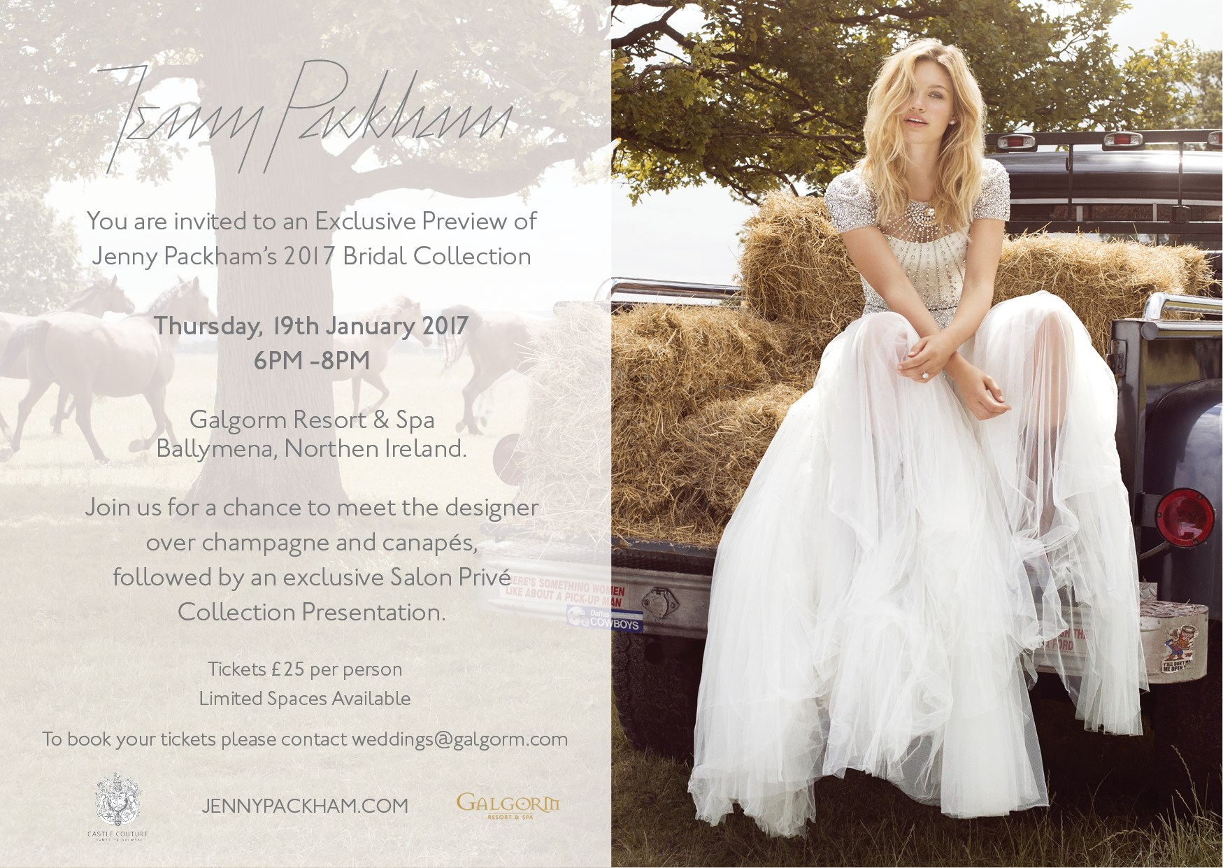 Exclusive Jenny Packham Event