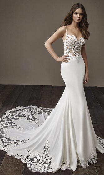 Badgley Mischka Bridal Collection Wedding Dress