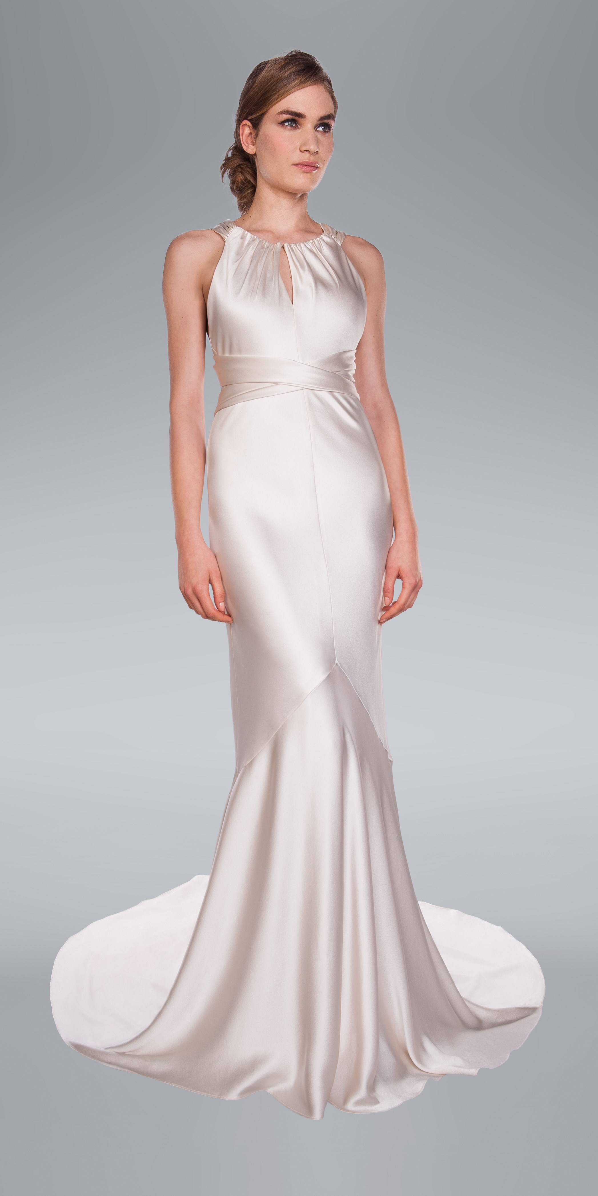 Aisha Wedding Dress by Amanda Wakeley   Northern Ireland